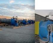Turbina híbrida para extracción de aire D300