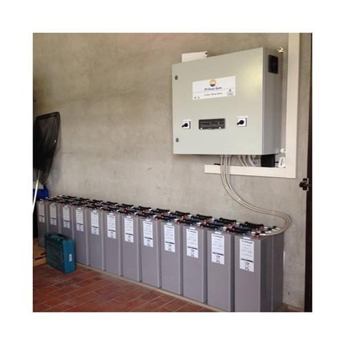 box de almacén para fotovoltáico existente