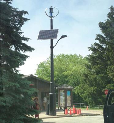 lampione ibrido