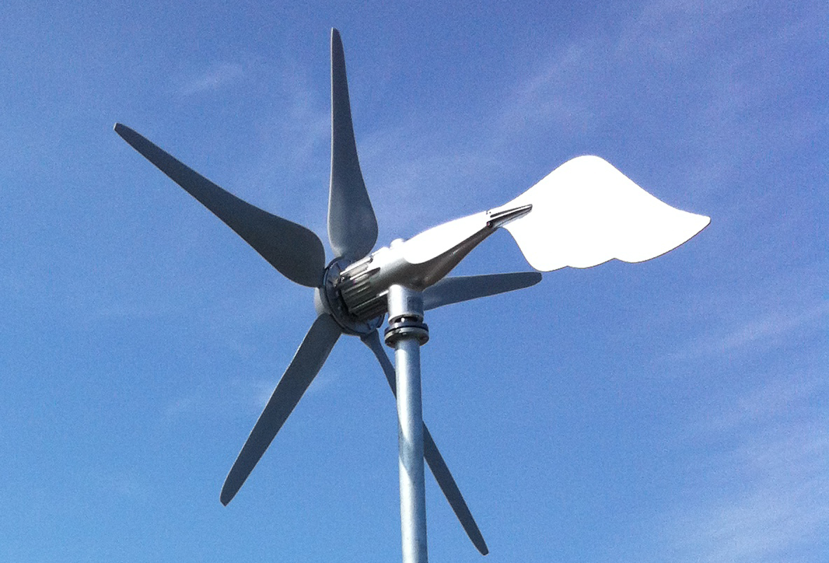 horizontal wind turbine 400-3000w perfect for storage solutions with pv